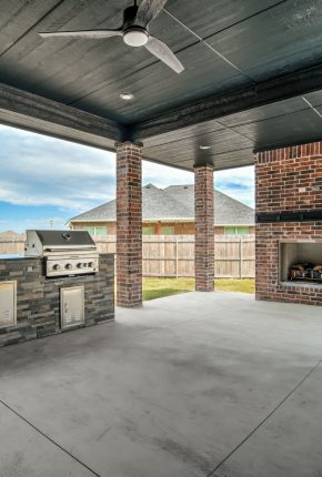 Patio Designed By Covenant Home Builders.