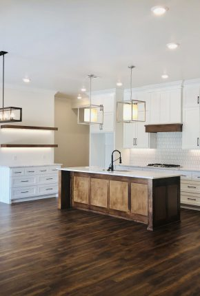 Kitchen Built By Covenant Home Builders An Oklahoma Home Builder Serving Yukon, Mustang.