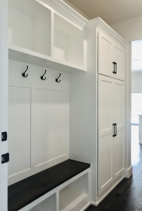 Mud Room Designed By Covenant Home Builders.