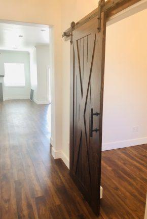 Sliding Door In Home. Covenant Home Builders Serves Yukon, Moore, Norman.