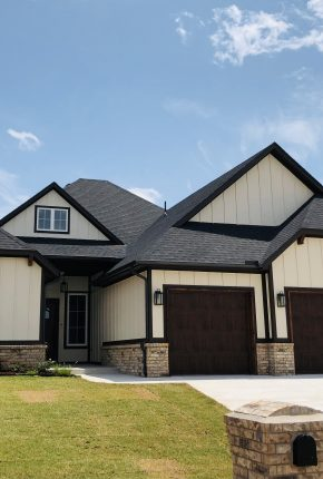 Front Of House. Oklahoma Home Builder Covenant Home Builders.